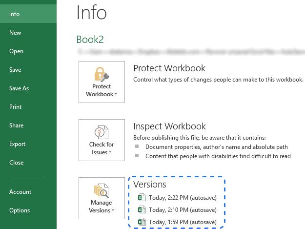 Récupération des fichiers Excel étape 4