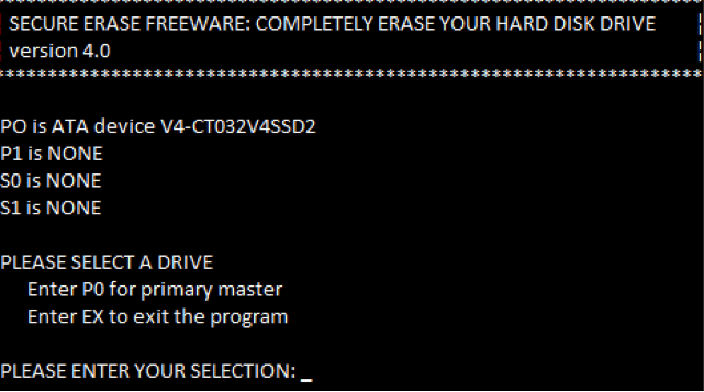 erase hard drive with HDD eraser