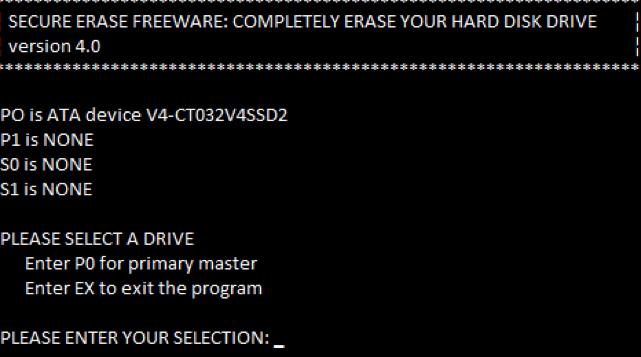 borrar disco duro con HDD eraser