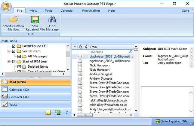 E-Mails aus beschädigten PST-Dateien wiederherstellen