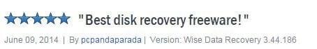Top 10 NTFS Undelete alternatives on Windows-Wise Data Recovery