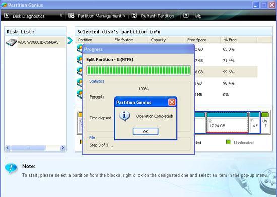 partition hard disk step 3