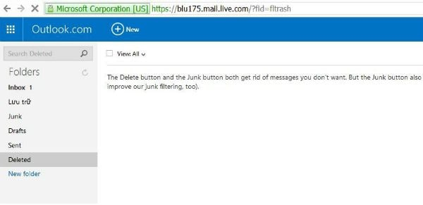 recover permanently deleted hotmail emails