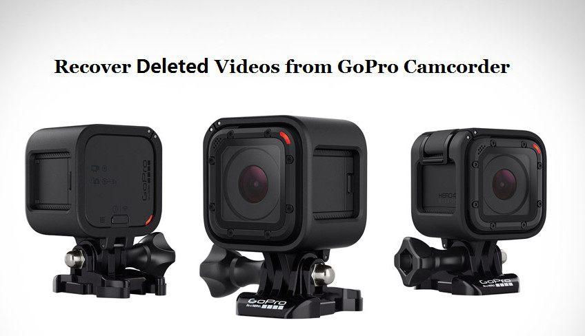 Wiederherstellen gelöschter Videos von einem GoPro-Camcorder