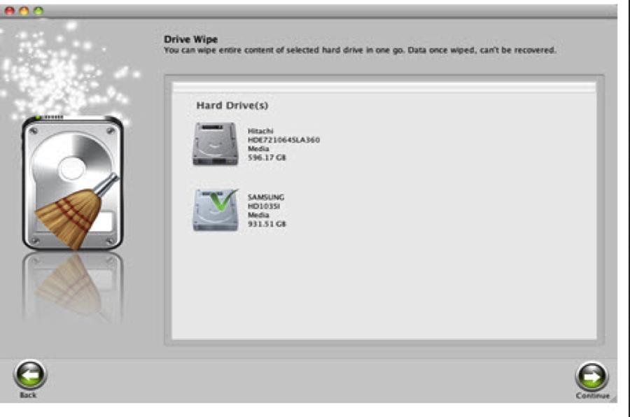 Cómo usar Stellar Wipe paso 3