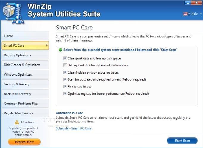 System Utilities Suite para Remover Arquivos Indesejados do Windows