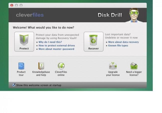 Top 5 Datenwiederherstellungssoftwares für Mac OS X – Disk Drill für Mac