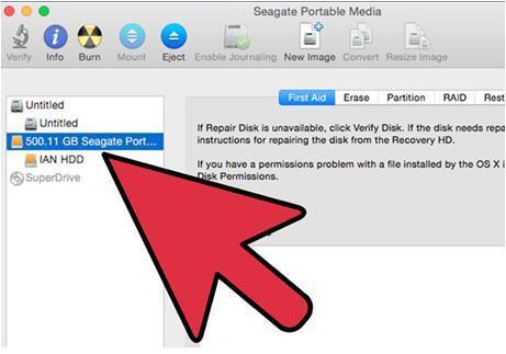 Festplatte reparieren Schritt 6