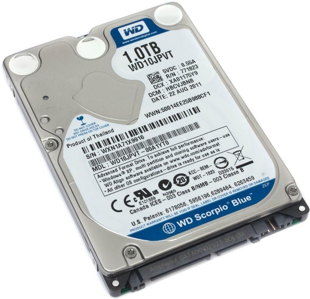 PS3 hard drive - Western Digital Scorpio Blue