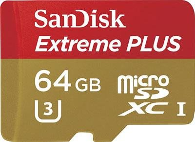 SanDisk Extreme PLUS Memory Card