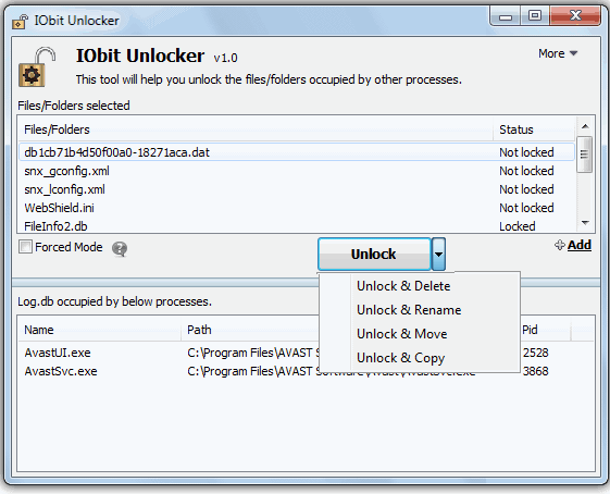 Alternativen zu Delete Doctor – IObit unlocker