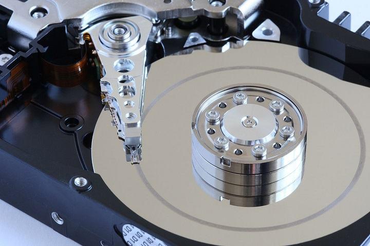 disco duro interno colapsado