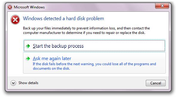 hard drive logical failure