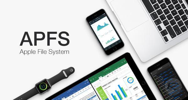 Redimensionner un conteneur APFS sur MacOS High Sierra-nouveau système de fichier Apple