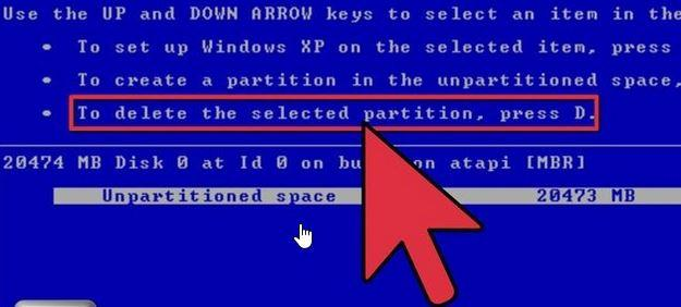 wipe hard drive data on windows step 2
