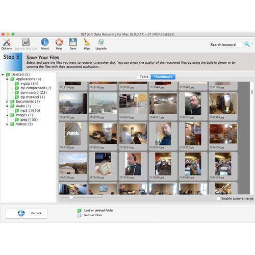 Mac-Datenrettungssoftware – 12