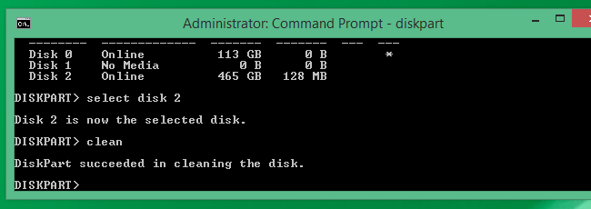 deleted efi system partition step 6