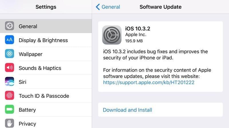 upgrade ios devices