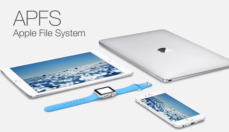 apfs sistema de arquivos da Apple
