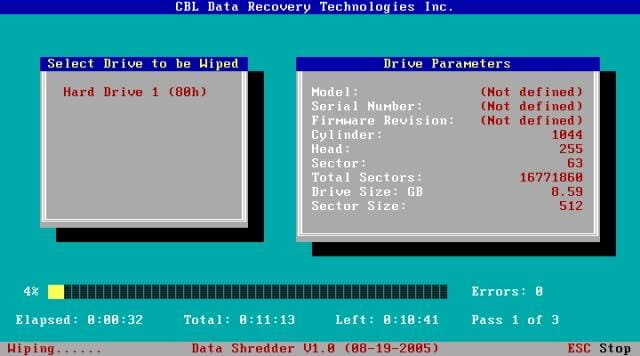 CBL Data Shredder