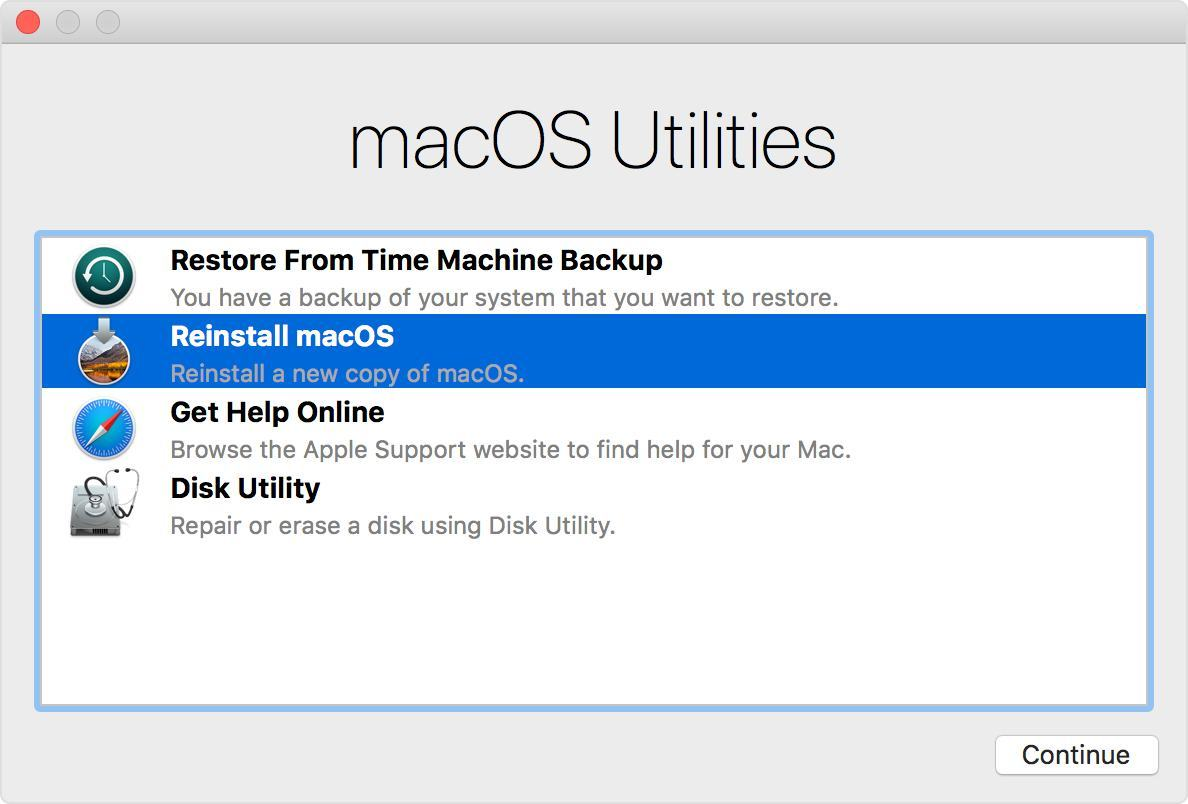 Fix Slow Mac Performance with 10 easy ways-Reinstall Mac