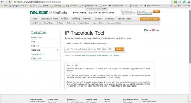 track IP address
