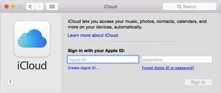 Wie man einen Mac in der iCloud sichert