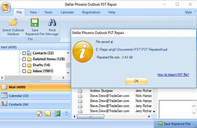 recover deleted notes in outlook step 5