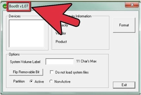 how to partition a flash drive