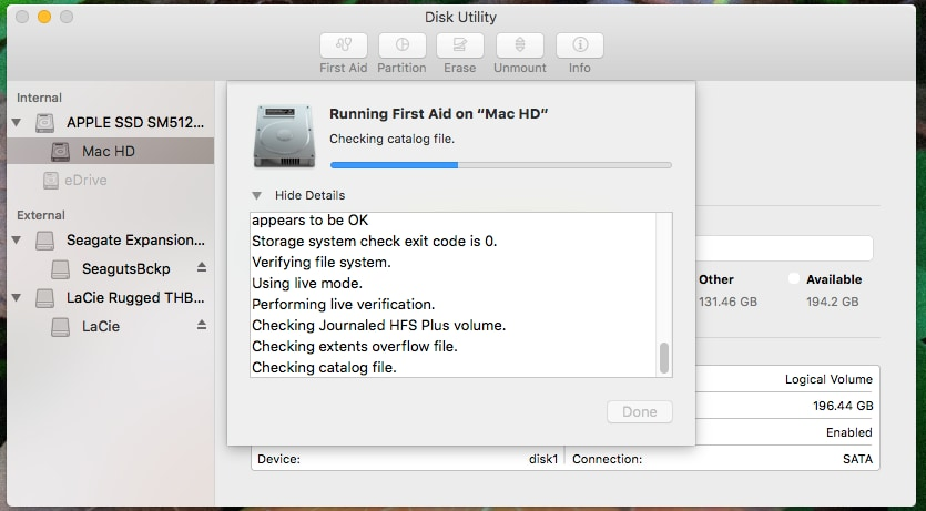 How to Repair Hard Drives and Disk Permissions using Mac Disk Utility-1