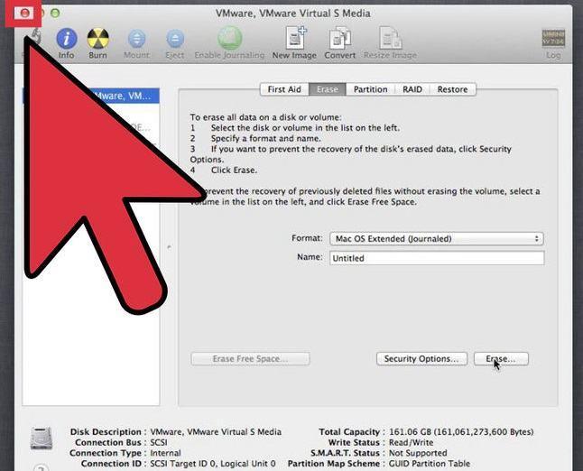 Festplatten-Dienstprogramm verwenden