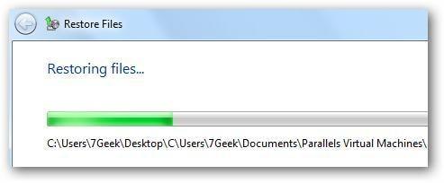 restore windows files