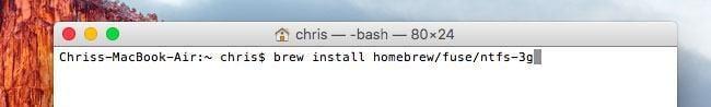 write to NTFS drive on mac step 3