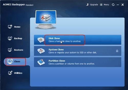 SD Card Backup via Disk Clone