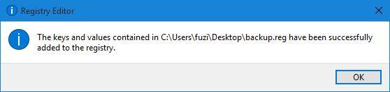 Wiederherstellen der Registry unter Windows 10