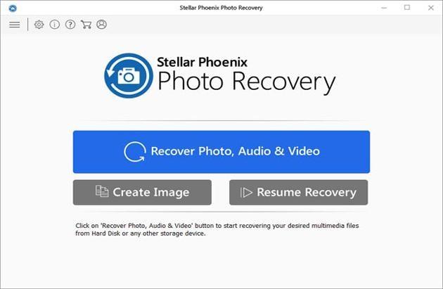 Stellar Phoenix free Photo Recovery