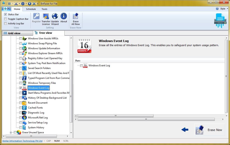 delete windows evetn log