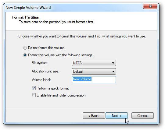 create virtual hard drive step 11