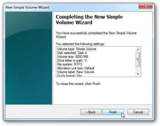 create virtual hard drive step 10