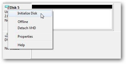 create virtual hard drive step 4