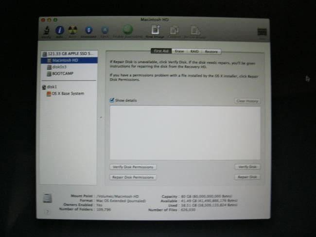 récupération de Mac Mode 04