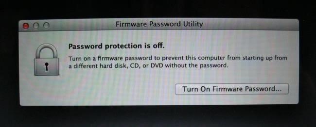récupération de Mac Mode 06