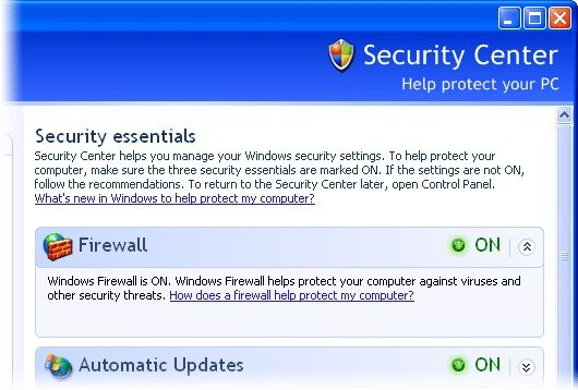 inhabilitar windows firewall