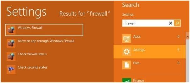inhabilitar windows firewall