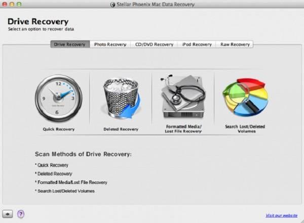Récupération de données Stellar Phoenix pour Mac