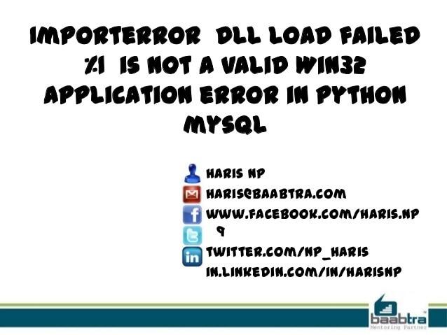 comment réparer l'erreur : application Win32 invalide