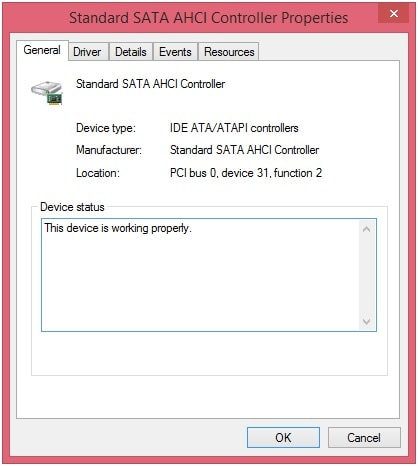 application Win32 invalide