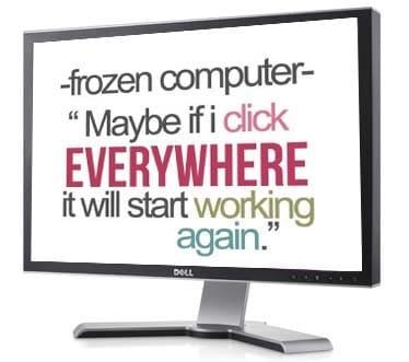 problema de congelación del ordenador