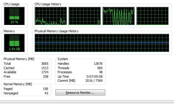 Windows Deja de Responder