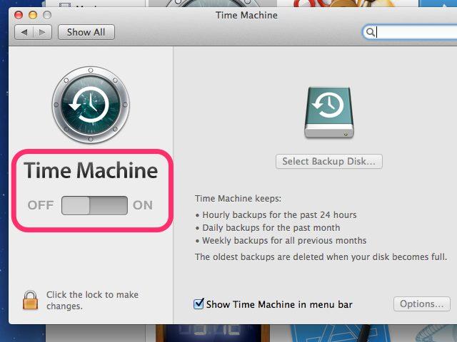 récupérer l'historique Internet supprimé sur Mac avec Time Machine - étape 1